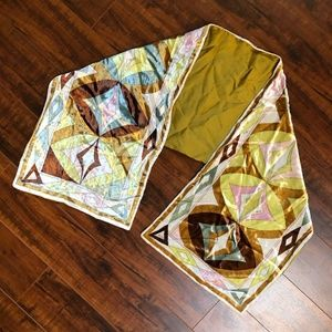 PUCCI Vintage Authentic Stunning thick SILK SCARF